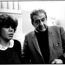 foto LUX con Giulio Tuircato 1982