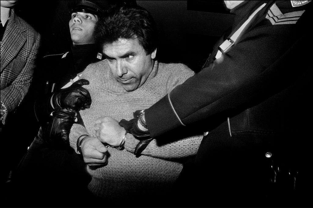 press 06_Letizia Battaglia_L'arresto del feroce boss mafioso Leoluca Bagarella_Palermo1 980 Courtesy l'artista
